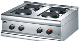 Boiling Rings, Tables and Hobs