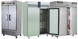 Double Solid Door Freezers