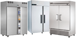 Double Solid Door Fridges
