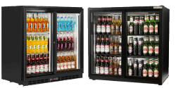 Double Door Under Counter Bottle Coolers