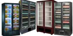 Double Door Upright Bottle Coolers