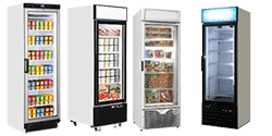 Single Glass Door Freezers