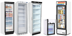 Single Glass Door Fridges
