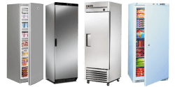 Single Solid Door Freezers