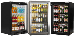 Single Door Under Counter Bottle Coolers