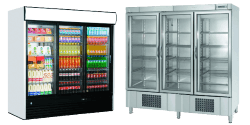 Triple Glass Door Fridges