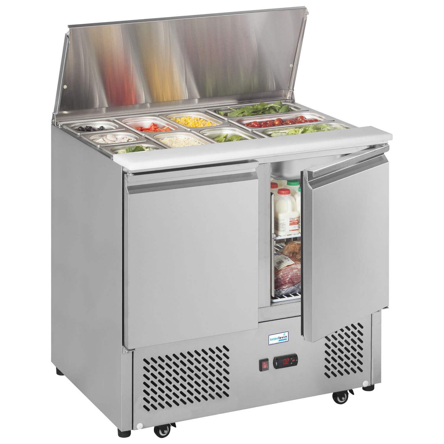 An image of Interlevin ESA900 Refrigerated Saladette Counter