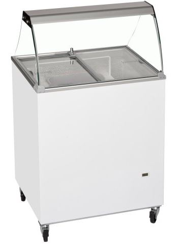 An image of Tefcold ICSC Tub/Pan Ice Cream Display With Canopy