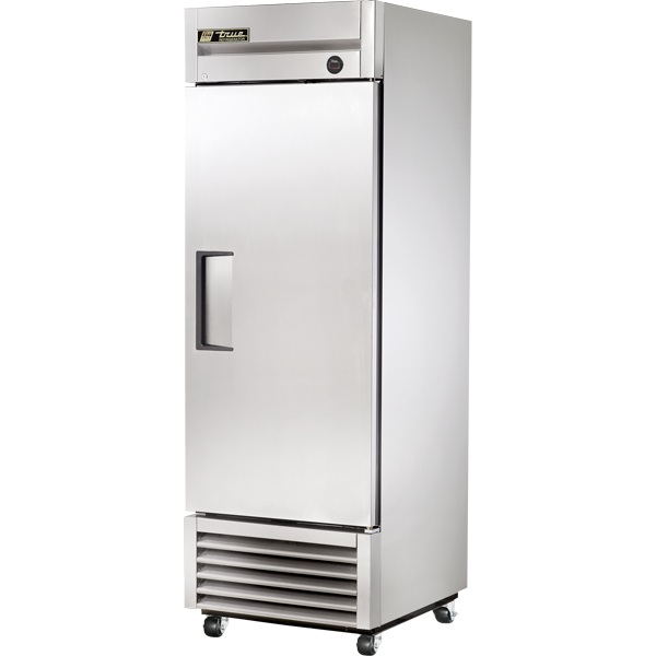 An image of True T-23F-HC Upright Single Solid Door Freezer