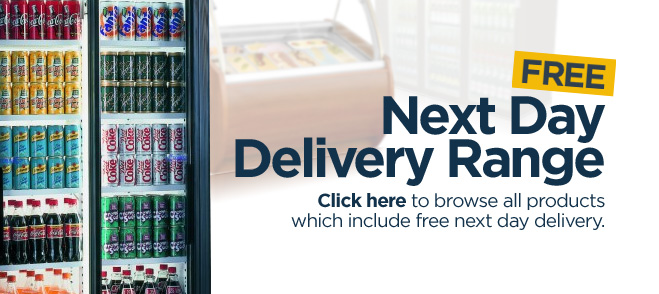 Free next day delivery range