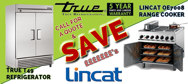 Great Deals on True and Lincat